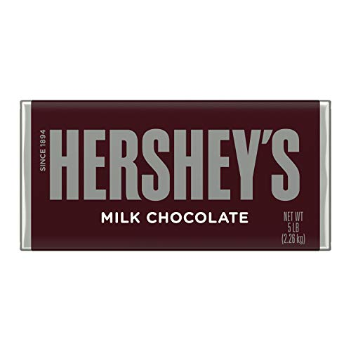 Product Image of the HERSHEY'S Milk Chocolate Candy, Easter Gift, 5 Lb. Bar