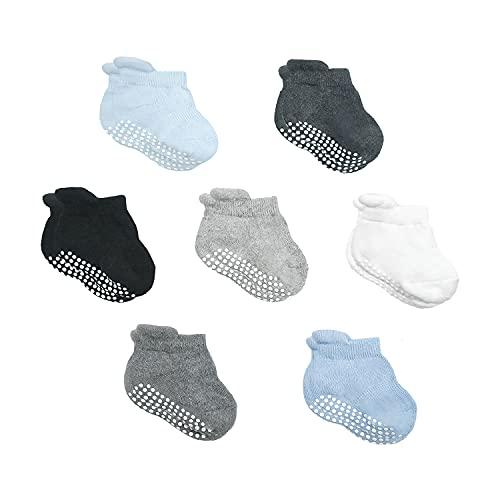 Calcetines de Bebés, 7 pares de Tobillera Calcetines Antide