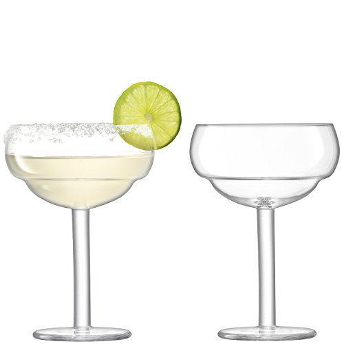 LSA International Mixologist Cocktail Coupe Verre Transparent 320 ML X 2, 10.8 x 10.8 x 15 cm