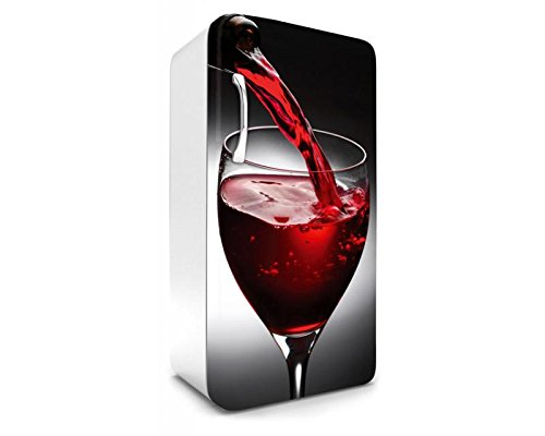 DIMEX LINE koelkast sticker wijn 65 x 120 cm | stickers - fotobehang - decorfolie - decoratieve stickers | Premium vinyl kwaliteit