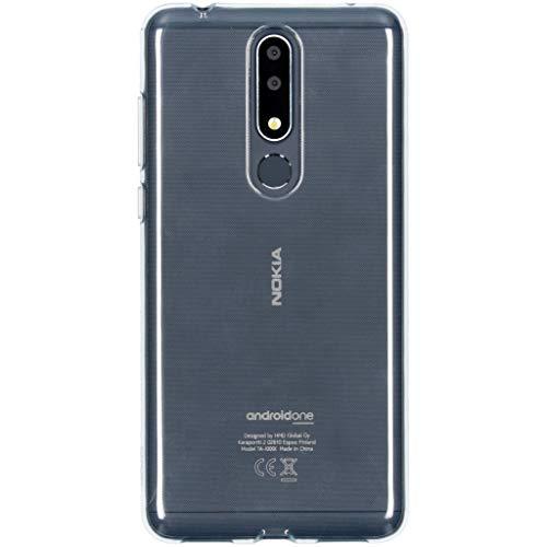 Nokia CC-131 - Custodia 3.1 Plus, Colore: Trasparente
