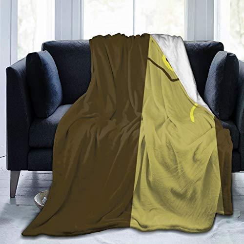 Ameisen-Überwurfdecke aus weichem Flanell-Fleece, für Couch, Bett, Sofa, Stuhl, Büro, Camping, dekorative warme Decke, 127 x 152,4 cm