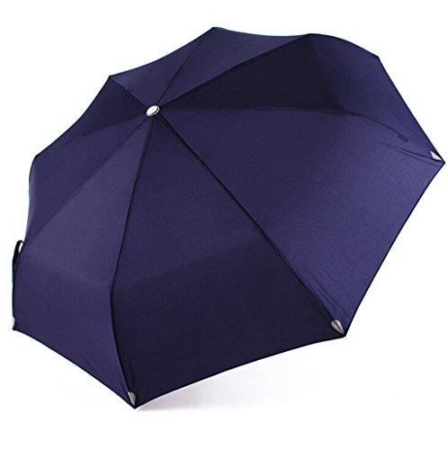 GTWP GTWP GT Regenschirm Automatisch Mode 3 Folding Umbrella, Sonnenschirm Stockschirm Robuste Winddicht Anti-UV-Sonnenschutz Dach