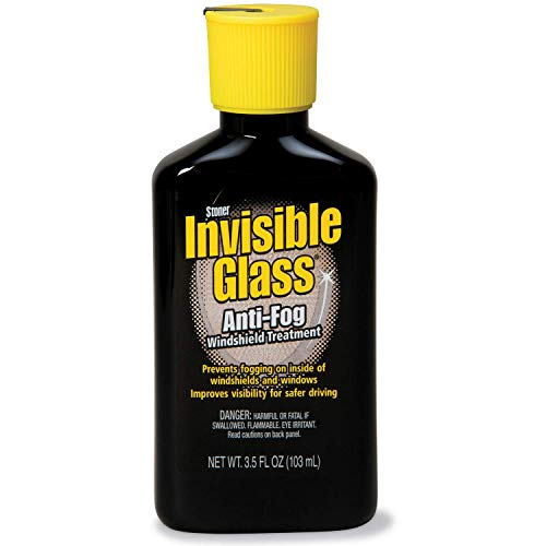Invisible Glass 91471 Anti-Fog - Car Defogger, Glass Cleaner Anti-Fog Invisible Window Cleaner and Car Defogger for Car Interior