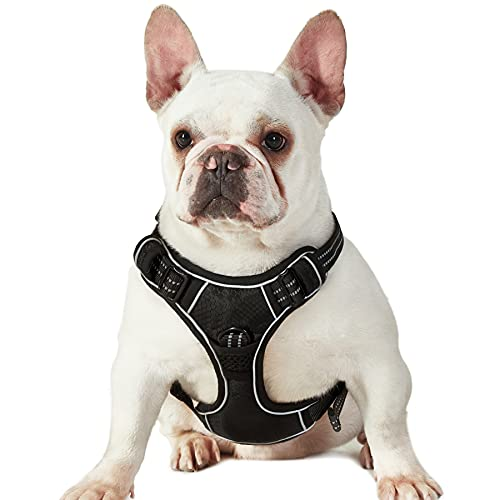 Lesure No Pull Dog Harness Medium - Front Clip Pet Vest Harness with Handle...