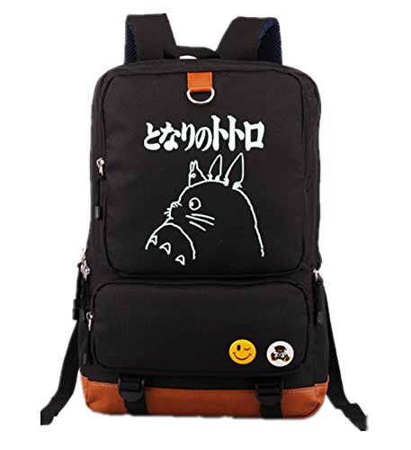 YOYOSHome - Mochila luminosa con diseño de anime My Neighbor Totoro