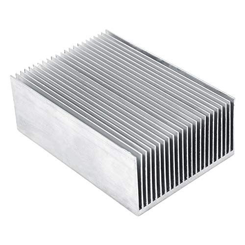 1pc aluminio disipador refrigeración disipador para LED Amplificador Transistor IC Módulo 100* 69* 36mm