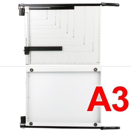 Forma de guillotina de A3A4A5B4B5B6B7Papel Cortador de tarjeta para máquina de cortar cortadora