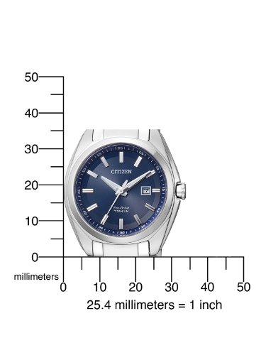 Citizen Womens Analogue Quartz Watch with Titanium Strap EW2210-53L