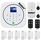 App Controlled Smart Home Security System 2.4G WiFi GSM Burglar Alarm System DIY