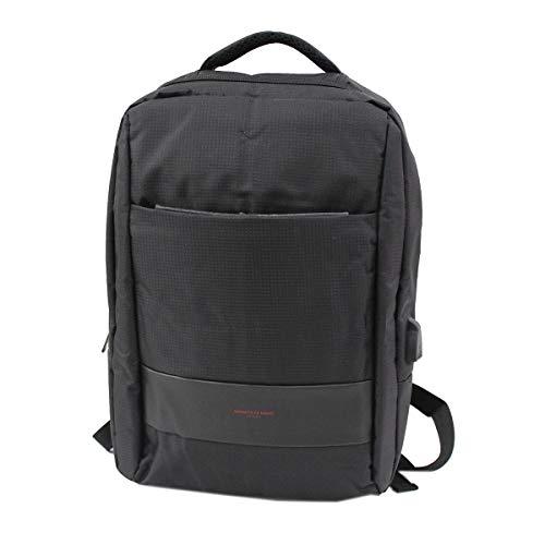 Armata di mare Zaino viaggio nylon e pvc modello grande porta tablet bag650 nero