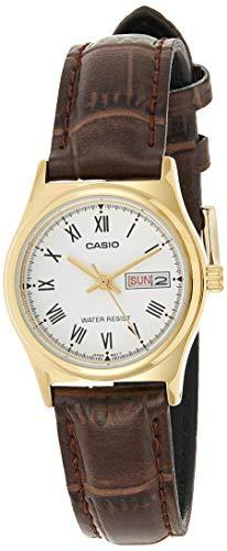 Casio ホワイト レディース アナログ カジュアル クォーツ Casio Standard 海外出荷 LTP-V006GL-7B