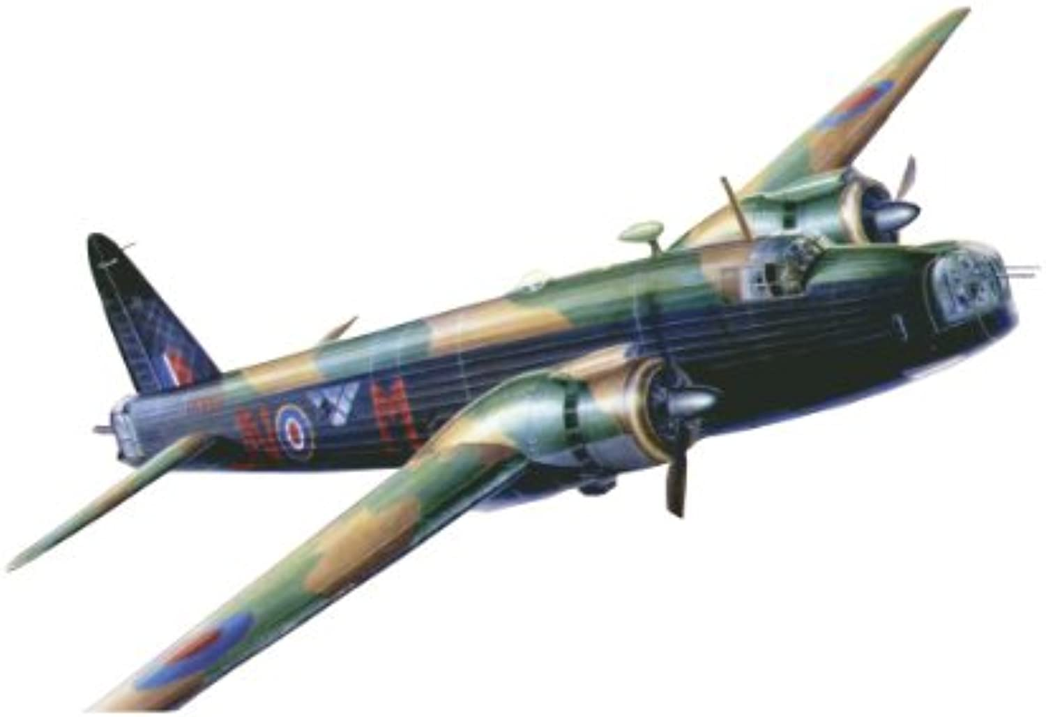 Italeri T2M I1252 Model Aeroplane for SelfAssembly Wellington Mk.X 1 72 Scale Plastic