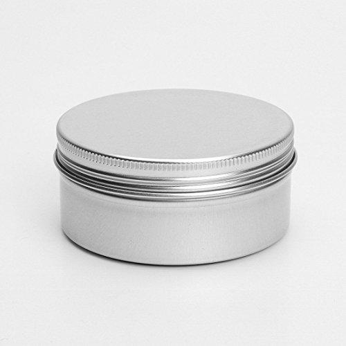 150ml Aluminium Baume À Levrès Pots 150ml capacité Vide Petit Mini produits de beauté/Brillant À Lèvres/Ongle Art Pots Boîtes Bocaux MULTILISTING