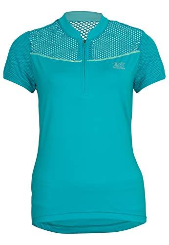 Tao zippé Sportswear, W S Supra Sonic Zip, léger Pantalon de course T-shirt à manches courtes T-shirt en bleu avec fermeture éclair et maille filet pour une grande respirabilité Courir S Bleu Bluebird