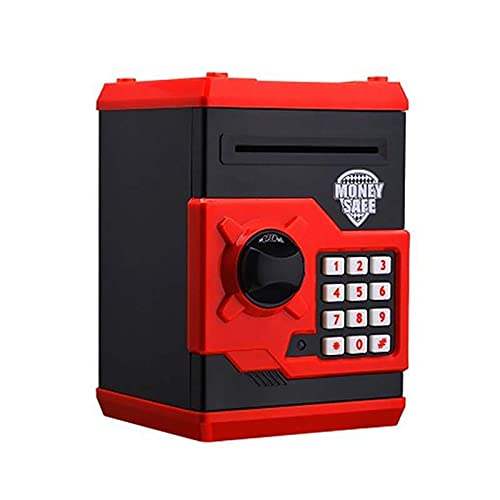 Hucha Electrónica Real Dinero Moneda Cajero Automático Contraseña Hucha Hucha Dinero en Efectivo Puede Plástico Gran Ahorro Caja de Seguridad Caja de Seguridad Dibiao Regalos de