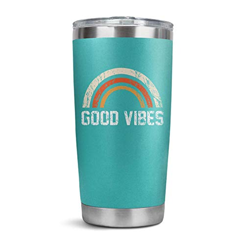 Stainless Steel Tumbler Floral Mama Bear Good Vibes Insulated Travel Mug with Straw 20oz Water Tumbler Cup -  SOME THING, njsdknghr-#HQA27617452D150753