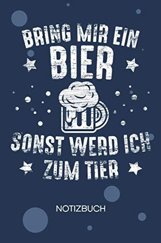 NOTIZBUCH A5 Blanko: Biertrinker SKIZZENBUCH - 120 Seiten für Notizen Skizzen Zeichnungen - Trinkspruch Notizheft Bier Sprüche - Saufen Geschenk für Biertrinker Bierliebhaber Säufer