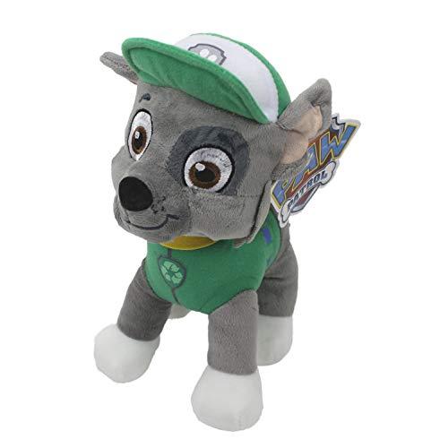 Paw Patrol Dogs 25cm Plüschtier Stofftier Charakter wählbar für Jungen und Mädchen (Rocky)