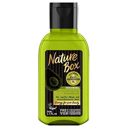 Nature Box Duschgel Avocado-Öl mini 50ml