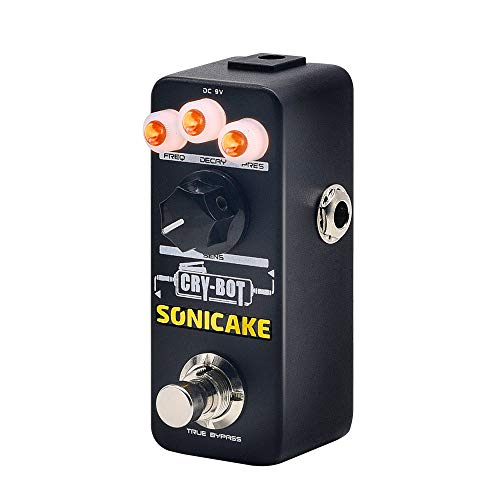 SONICAKE Cry-Bot Auto Wah Envelope Filter Funky Bass Guitar Effects Pedal