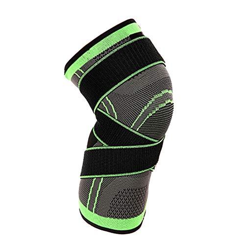 Kneecap Knieschoner Schutzausrüstung Kniebandage Schmerzlinderung für Laufen, Fitnessstudio, Sport (XXXL)