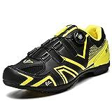BEICHENG Calzado de Ciclismo, Calzado de Ciclismo Resistente al Desgaste rápido, Antideslizante, de Goma Dura, cómodo y Transpirable, Deportes al Aire Libre