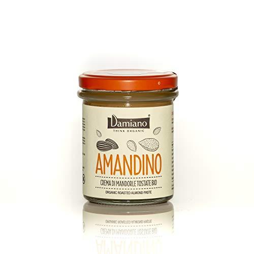 Crema Spalmabile di Mandorle Tostate, 100% Biologiche - Senza Glutine e Vegan Friendly - Vasetto da 180g