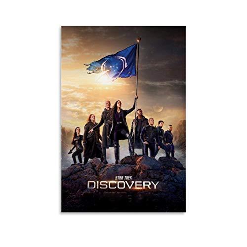 GANGPAO Star Trek Discovery TV Plakat Poster Leinwanddruck Kunstwerk Wandkunst Dekor Poster für moderne Wohnungen, Büro, Schlafzimmer