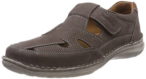 Josef Seibel Herren Anvers 81 Slipper, Grau (Anthrazit), 43 EU