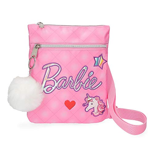 Barbie Fashion Bandolera Rosa 20x24 cms Microfiber