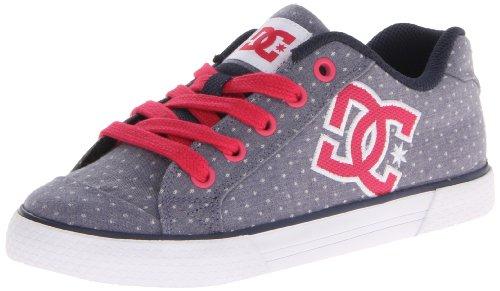 DC Shoes Chelsea Se J Shoe Dn1, Chaussures de Skateboard Femme - Gris (DC Navy), 37 EU