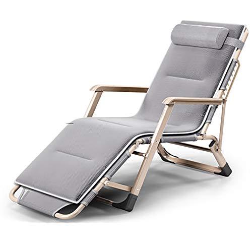 Xiao Jian Opklapbaar bed op stoel, eenpersoonsbed voor lunch, opvouwbaar, voor kantoor, nap bed, camping bed K