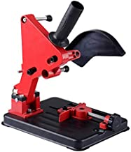 RO&LY 100-125 Angle Grinder DIY Angle Grinder Stand Grinder Holder Cutter Support Bracket Holder Cutting Machine Cast Iron Base for 100/115/125mm Angle Mill