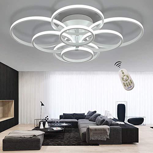 ONLT LED Moderne Plafonnier,LED panneau lumineux moderne lampe Plafonnier  Lustre Bureau,LED Lampe de plafond,pour Éclairage Cuisine, Bureau,Salon et  ...