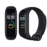 Xiaomi 4, Smart Band Unisex Adulto, Nero, Taglia Unica