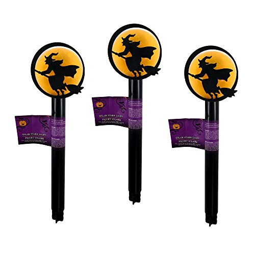 Halloween 3 Eyeball Solar Light Stakes Solar Lights