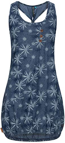 alife and Kickin Cameron Dress XL, Dark Denim Flowers