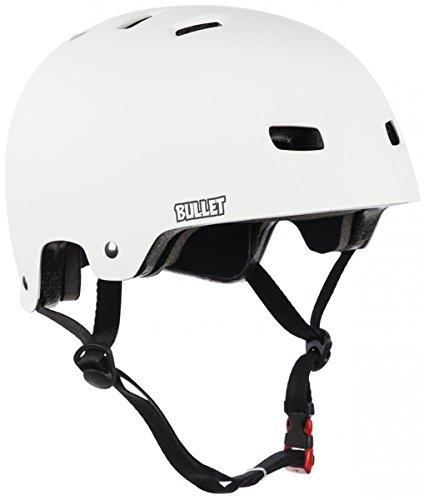 Bullet Helm matt weiß Größe S/M (54-57 cm)