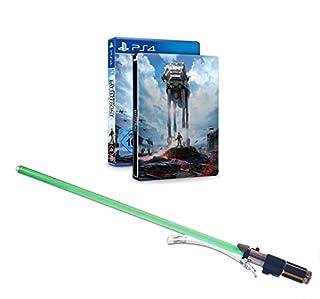 Star Wars Battlefront - Steelbook Edition inkl. Lichtschwert Yoda (exklusiv bei Amazon.de) - [PlayStation 4] (B016MFTCY6)   Amazon price tracker / tracking, Amazon price history charts, Amazon price watches, Amazon price drop alerts