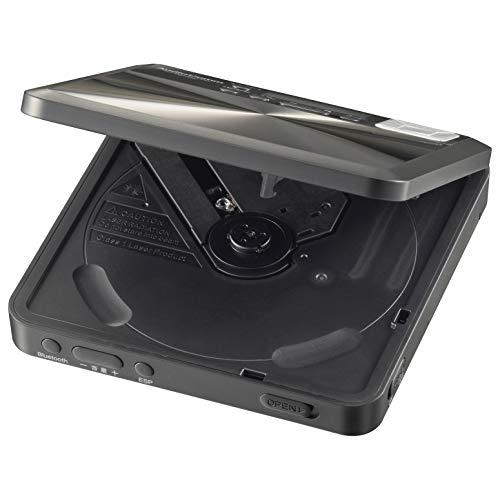 オーム電機AudioComm語学学習用ポータブルCDプレーヤーBluetooth機能付ブラックCDP-550N03-7250OHM幅140×高さ28×奥行140mm(突起物を除く)