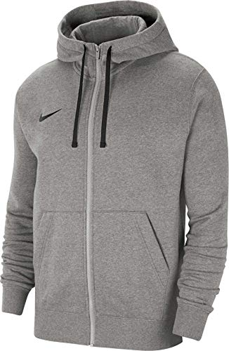 NIKE Team Club 20 Chaqueta, Dk Grey Heather/Black/Black, XL para Hombre