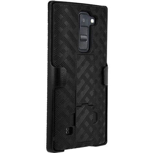 Verizon OEM Shell Holster Combo for LG K8 V - Black