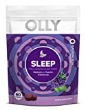 OLLY SLEEP GUMMY: Our melatonin gummies, with L-Theanine and botanicals like chamomile and lemon balm, help boost your natural sleep hormone, encourage a calm feeling, and support a healthy sleep cycle, making it easier for you to fall asleep. SWEET ...