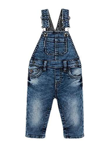 Mayoral 19-02624-005 - Latzhose Denim für Baby - Jungen 18 Monate (86cm) Jeans
