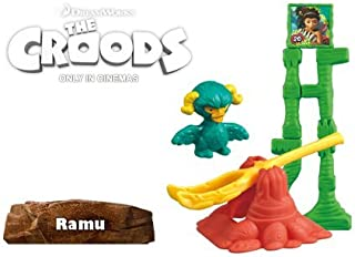 McDonald's 2013 Dreamworks The Croods #6 RAMU Happy Meal Toy