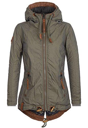 Naketano Female Jacket Arsch im Ärmel II Olive, XS
