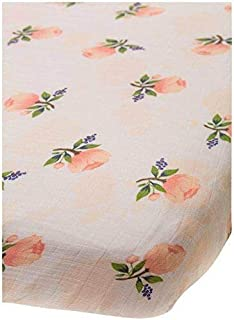 Little Unicorn Changing Pad Cover - Watercolor Rose Multicolor