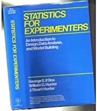 Statistics for Experimenters byBox