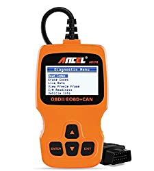 in budget affordable ANCEL AD310 Orange Classic Advanced Universal OBDII Scanner Car Engine DTC Scanner CAN…